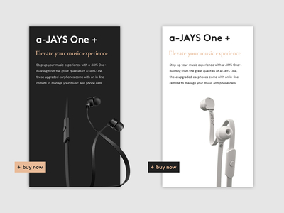 Jays Earphones — Product Page