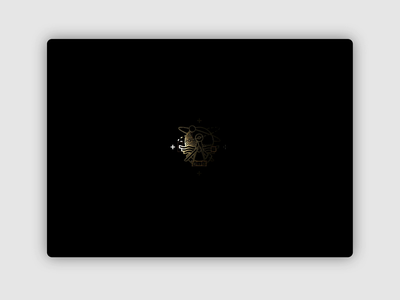 Frenchship — Loader Animation deformation glitch cinema4d 3d webgl web design interface interaction experiment prototype dark app animation ui