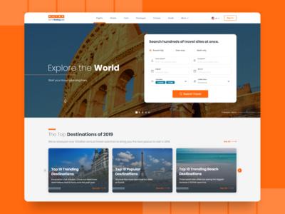 Concept KAYAK Website