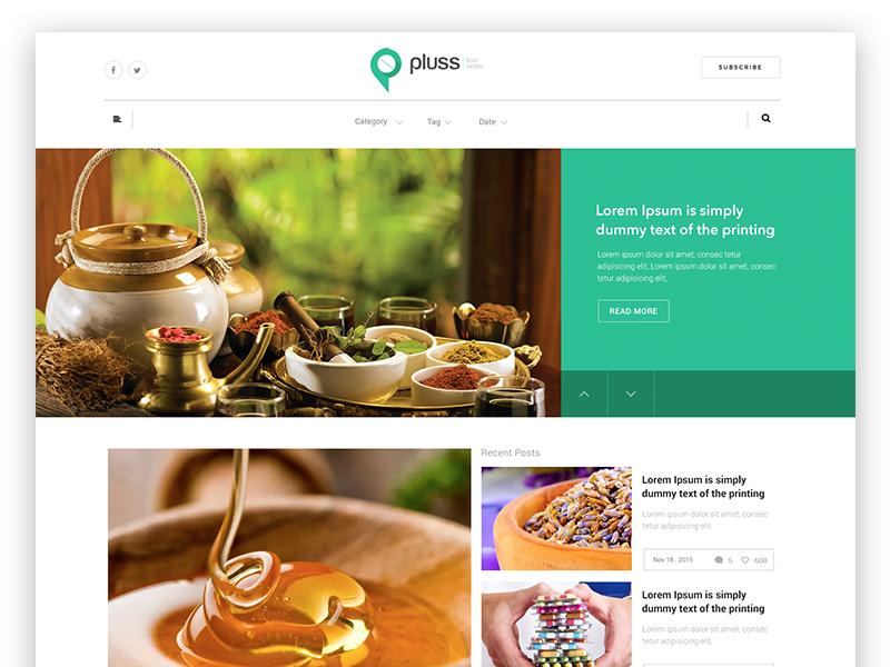 Pluss blog