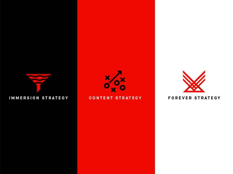 Strategy Icons WIP machine black white red strategy icons