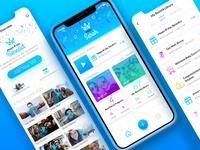 RexVid App Screens