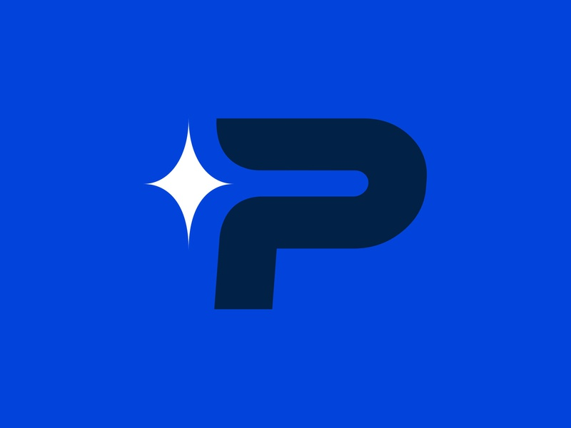 More Pioneers Branding p college athletics sports design brand logo badge illustration red blue