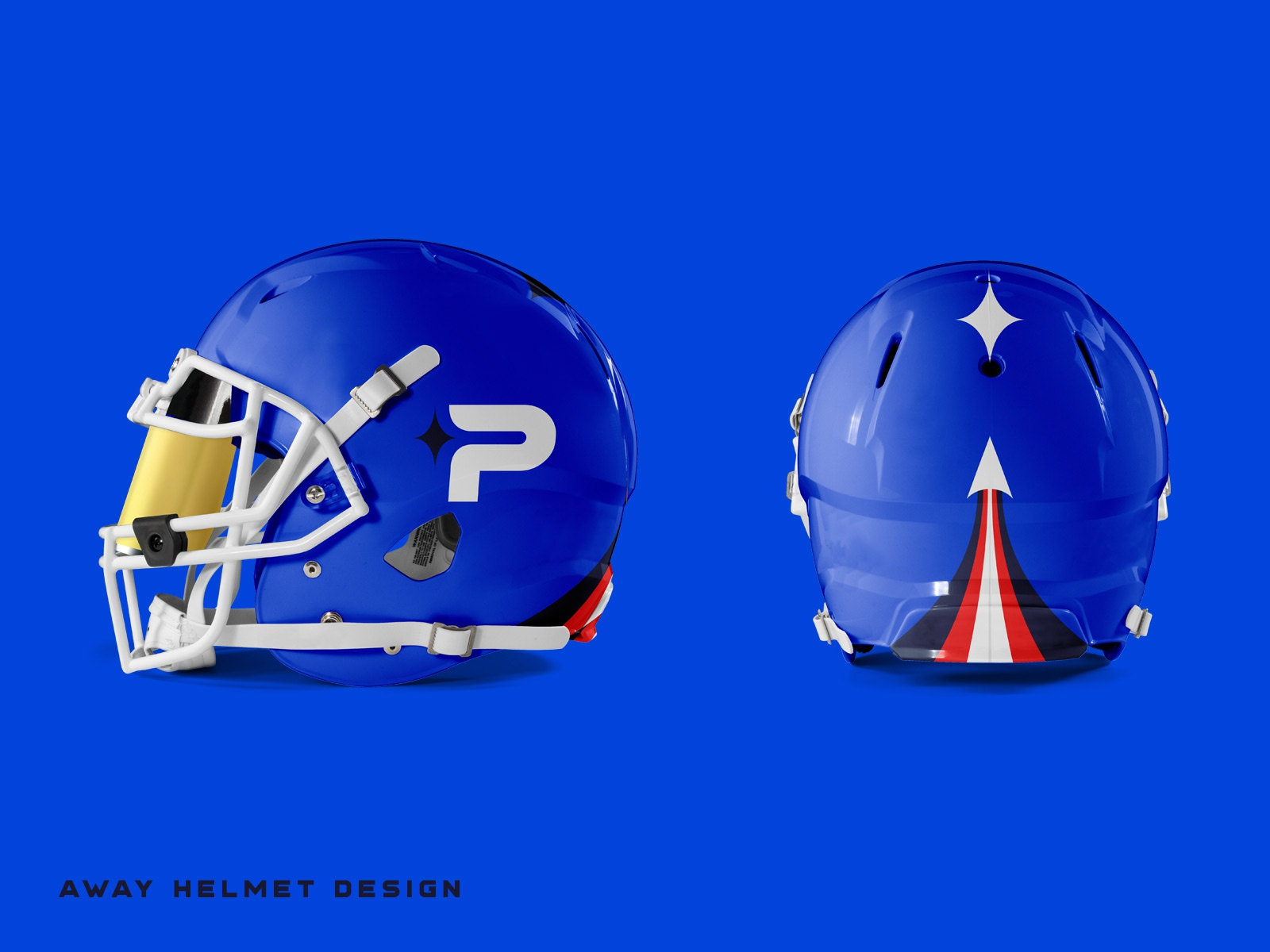 07 pioneers away helmets