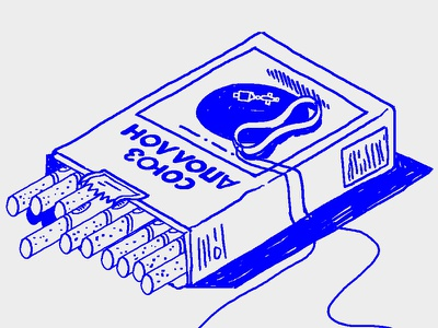 Apollo Soyuz cigarettes comic bande-dessinée blue cigarettes