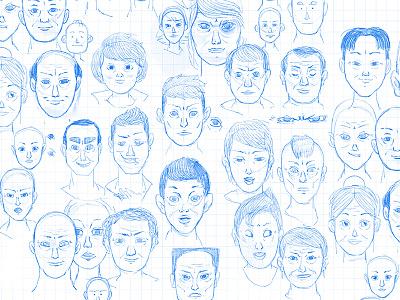Portrait Research procreate drawing portrait