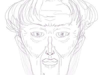 Old n classy symmetry procreate illustration