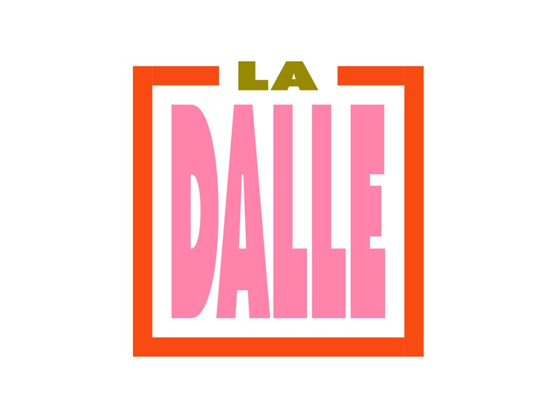 La Dalle hungry dalle restaurant french logo