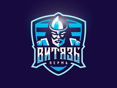 """Vityaz"" Rugby club, Perm, Russia sports rugby hero illustraion nimartsok sports logo"