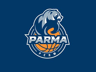 Parma perm team logodesign basketball perm parma sportslogo nimartsok