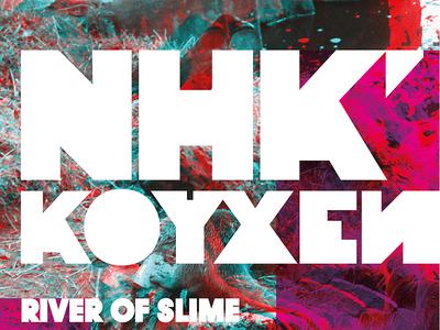 Flyer for NHK'Koyxeи show in Edinburgh