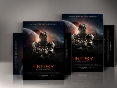 Sci Fi Movie Poster Template