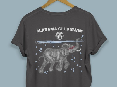 The University Of Alabama Club Swim Tees
