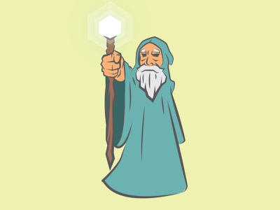 Wizard sketching drawing illustrator digitalart characterdesign illustration