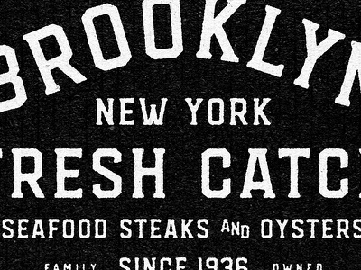 Brooklyn new york brooklyn type design typeface custom font font design typography