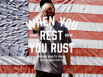 WHEN YOU REST YOU RUST