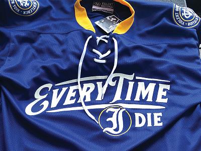 ETID buffalo cut  sew vg etid every time i die hockey jersey violent gentlemen hockey jersey