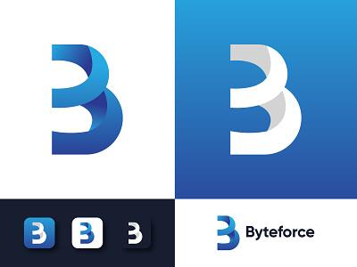 ABSTRACT B LETTER LOGO app initial logo idea logo trend abstract logo branding agency business b mark gradient logo gradient modern logo b logo letter logo alphabet logo app icon logotype branding logo design
