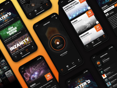 Q-dance Radio [iOS/Android] ios android radio app player hardstyle qdance music stream events shows