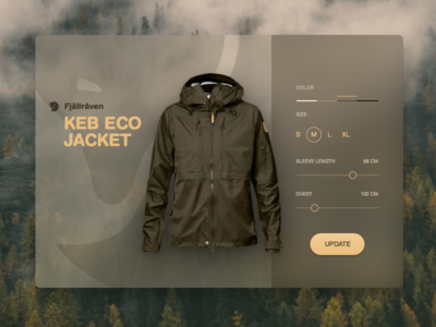 DailyUI 007 - Settings fjallraven 007 ui dailyui settings