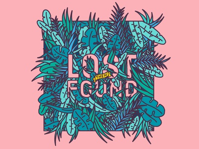 Lost Then Found Lettering
