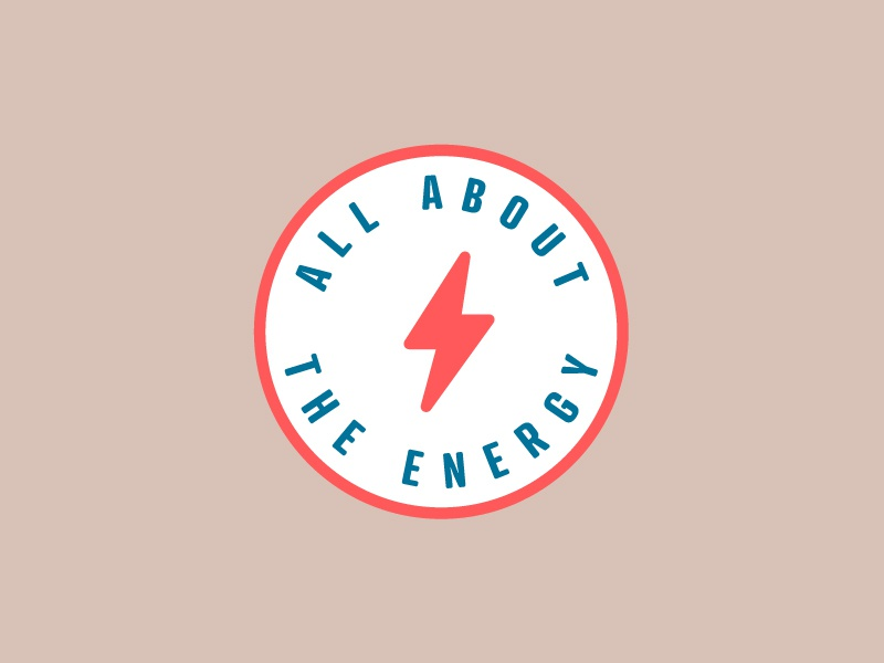 Embroidered Patch Idea energy bolt clean simple logo illustration design badge patch
