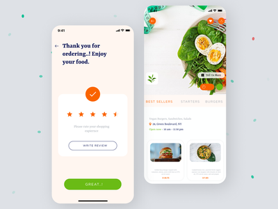 Food App UI mobile app ui app design signup food product food and drink android app delivery ios app design ios app app food