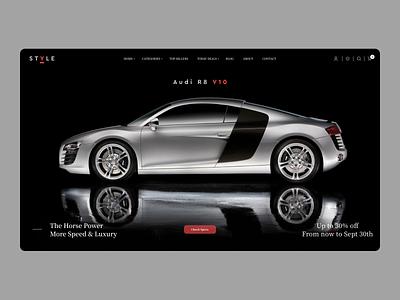 Audi Landing Page