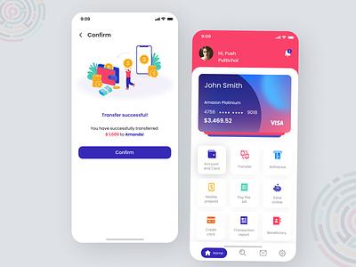 Online Banking App Concept design app