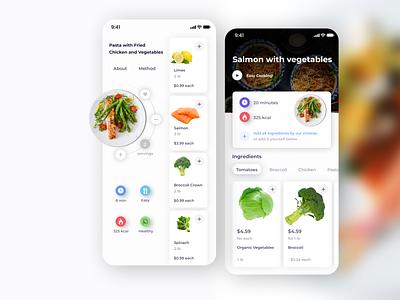 Food APP ux logo illustration mobile app features design app design ui