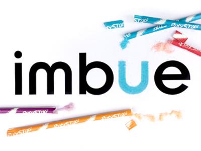 Candy Imbue Logo leftovers candy design creative imbue logo brand