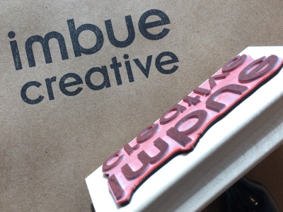 Agency Logo Stamp logos company lambertville stamp agency imbuecreative creative imbue