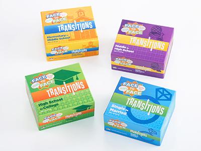Transitions Packaging Design logo branding packaging design package design crad games cards games packaging