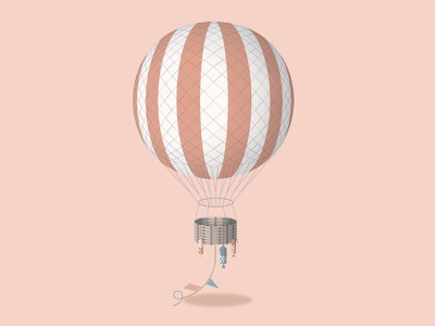 Balloon balloon illustration flying