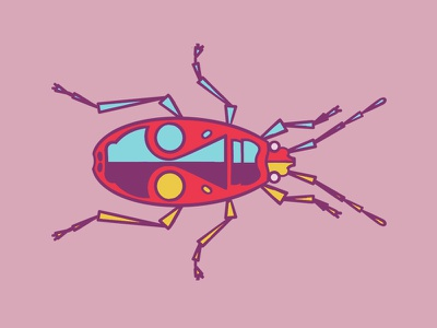 Bug illustration bug
