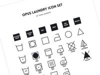Opus Laundry Icon Set