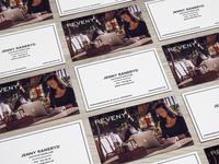 Reveny Business Card businesscard print reveny estate agent agency