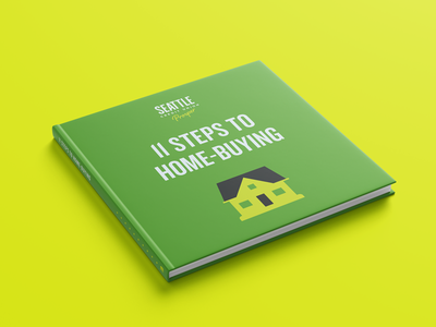 Home-Buying Book credit union bank green typography grid ebook design mortgage book