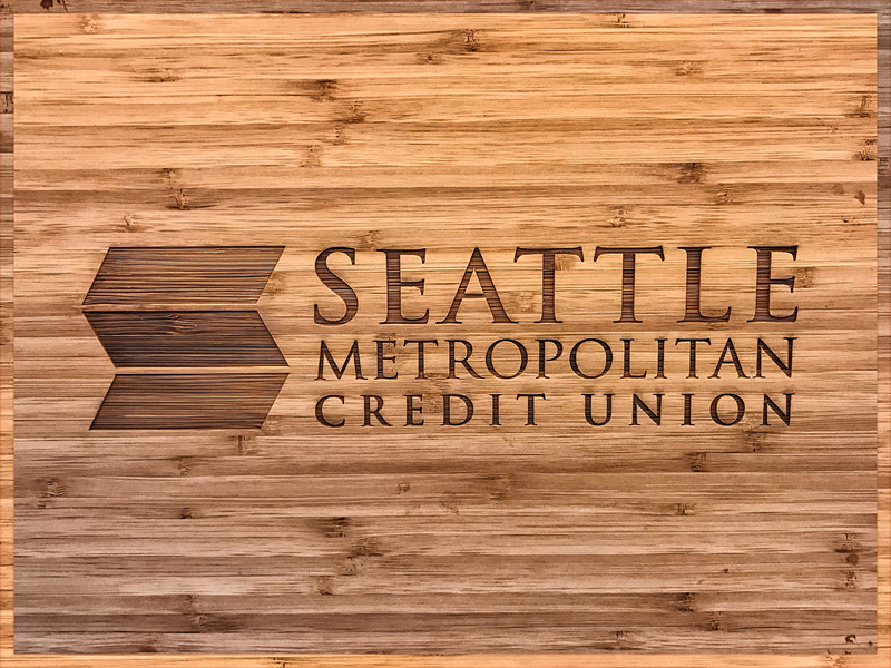 Seattle Metropolitan Credit Union - Logo & Identity geometric seattle credit union bank financial services logo design brand typography graphic design design identity branding logo