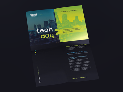 Event Poster seattle type grid event branding layout event flyer poster event typography design