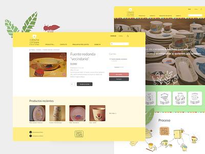 Compañía Cotidiana woocomerce web design ui design ecommerce online shop