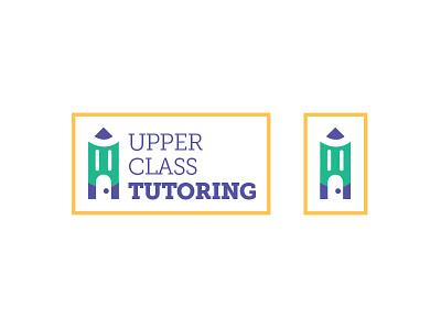 Upper Class Tutoring - Logos illustration branding tutoring logo