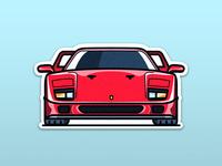 Ferrari F40: The symbol of Italy
