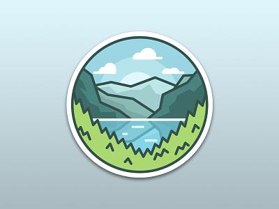 Banff National Park illustration canada contest glacier landscape mountain national park banff