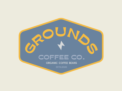 National Coffee Day | Grounds Coffee Co. coffee shop color palette illustration logo design typogaphy coffeeshop branding logodesign lockup logo coffee