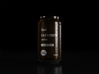 Logo design and branding for cold brew coffee brand | 3/3