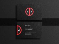 Deadpool business card