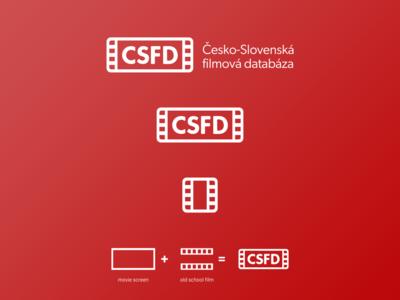 csfd.cz logo redesign | 2/4