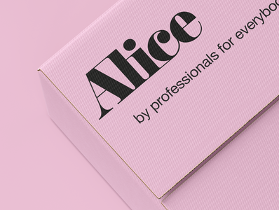 Alice | Hair removal wax packaging design | 2/3