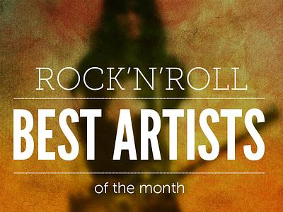 RnR Best Artist rock music cover best charts